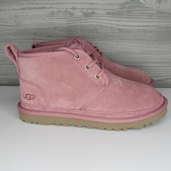 Ugg Womens Neumel Chukka Boot Pink Dawn